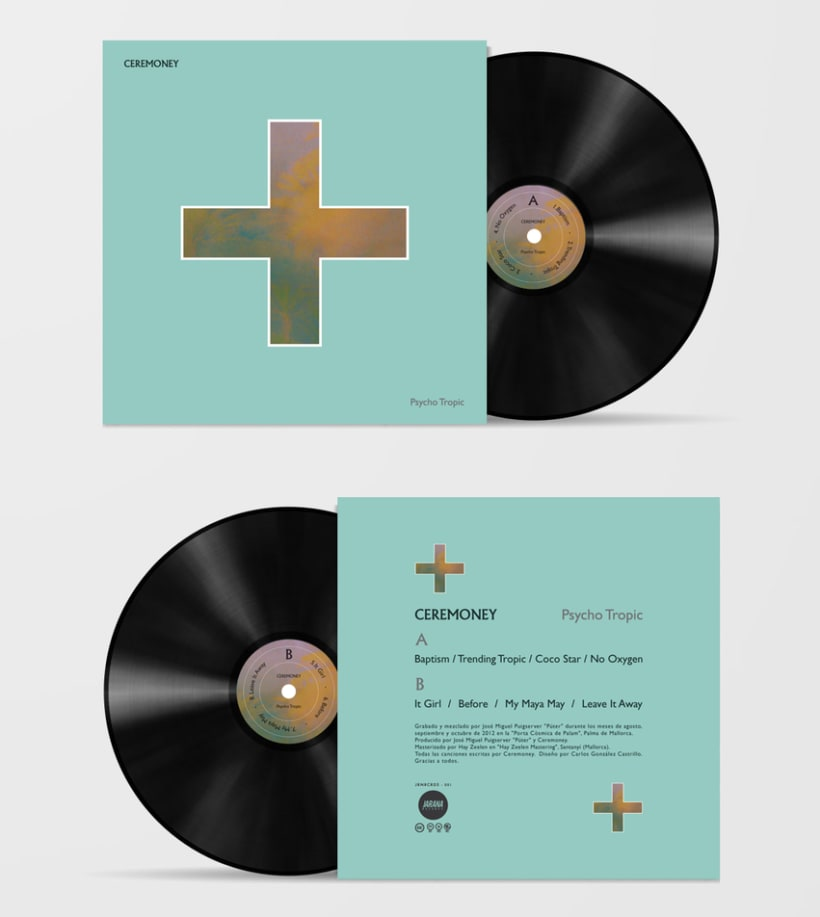 CEREMONEY - Psycho Tropic (Jarana Records 2013) LP 7