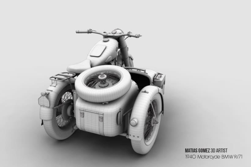 BMW R/71 3D Model 2