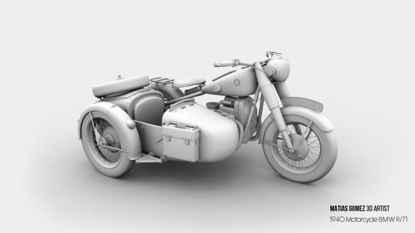 BMW R/71 3D Model 1
