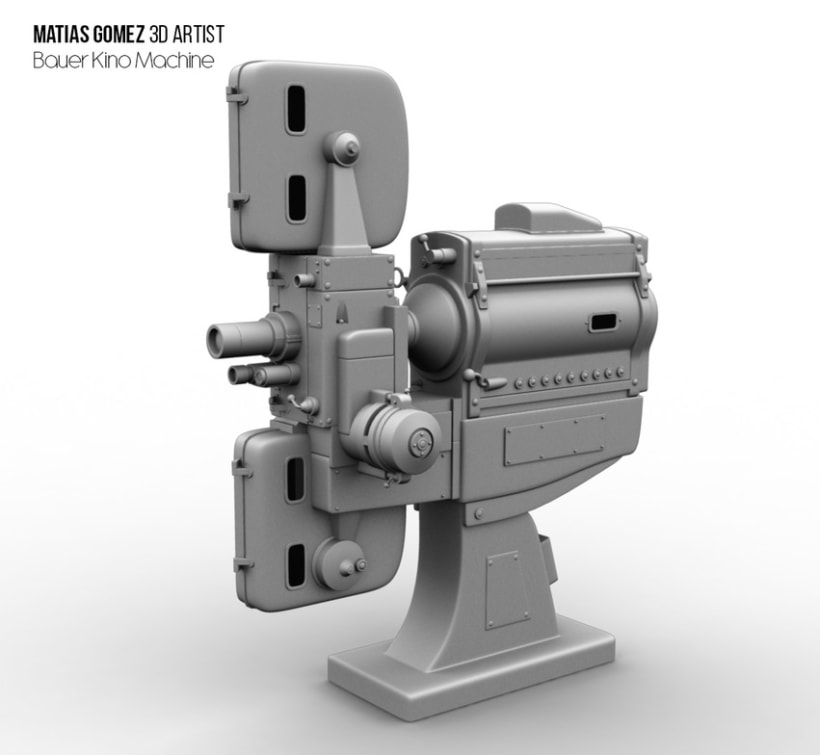 Kino Machine 3D Model -1