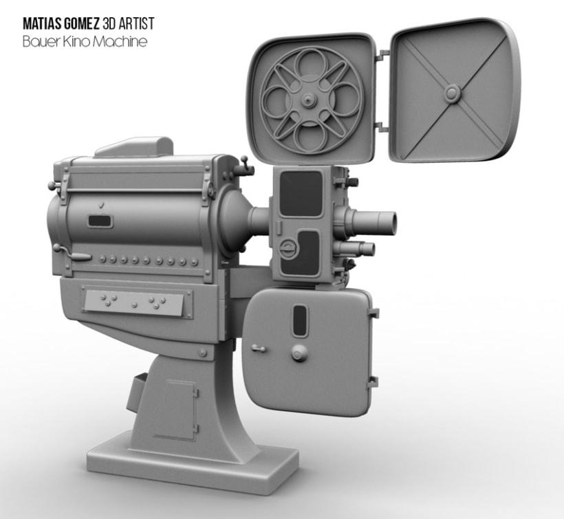 Kino Machine 3D Model 0