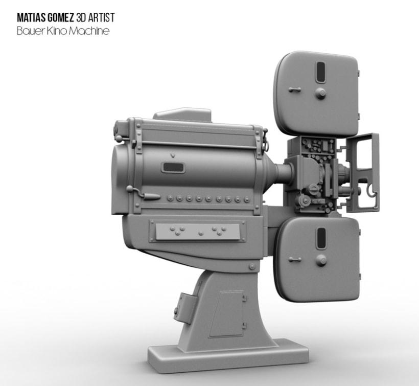 Kino Machine 3D Model 1