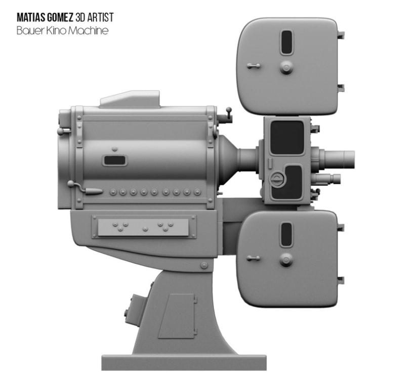 Kino Machine 3D Model 2