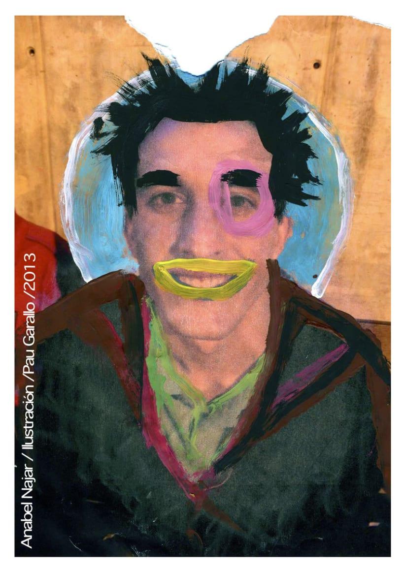 Retratos pintados 0