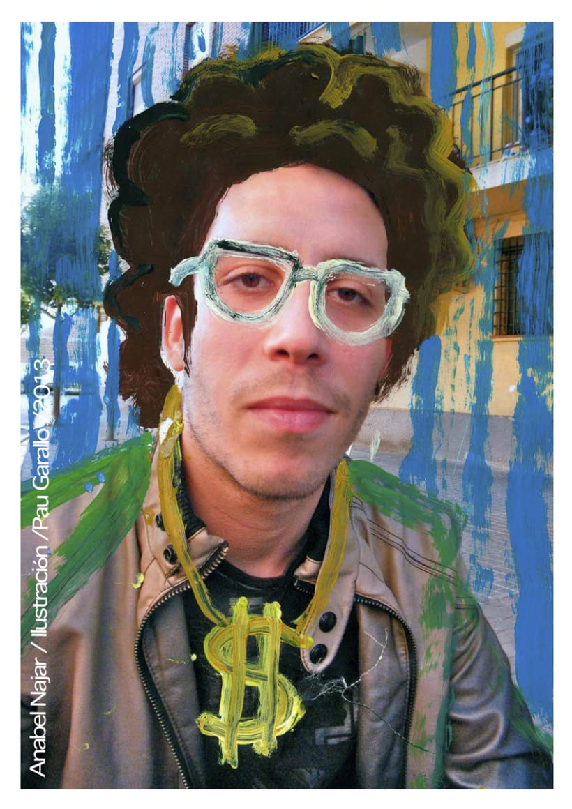 Retratos pintados 5
