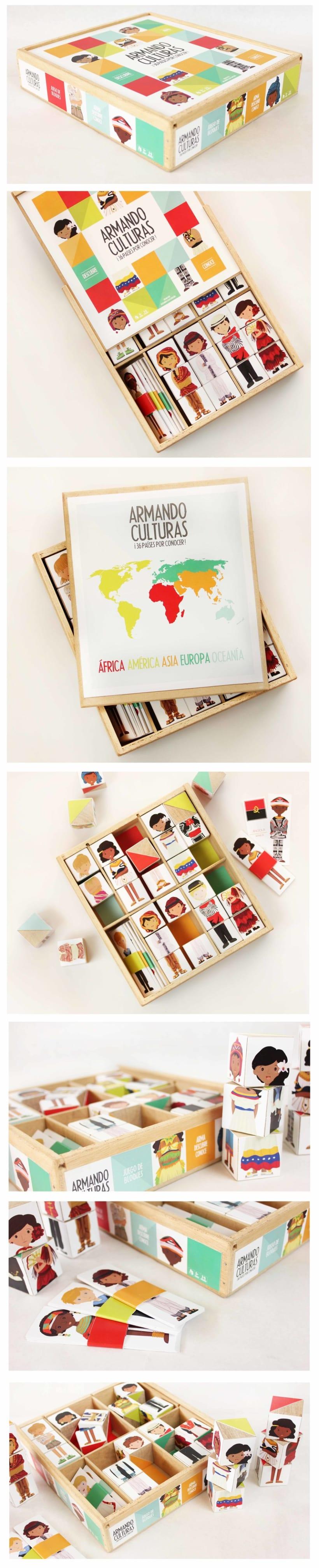 """Trabajo Especial de Grado  """"Diseño de un juego didáctico ilustrado sobre nacionalidades del mundo, dirigido a niños de edades comprendidas entre 5 y 7 años."""" -1"""