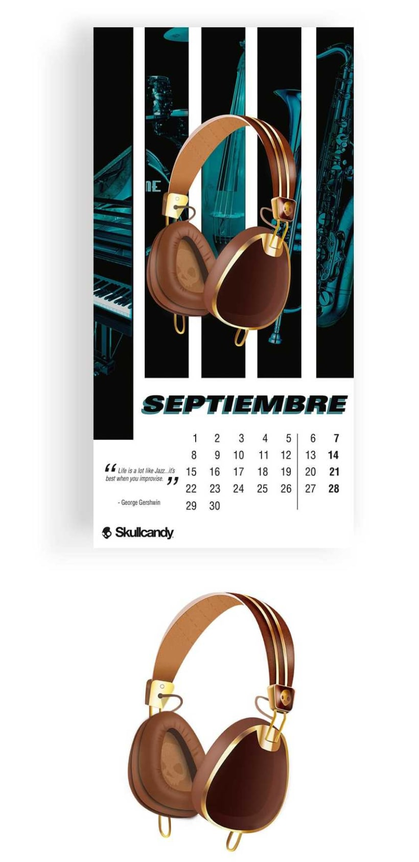 Calendario Skullcandy -1