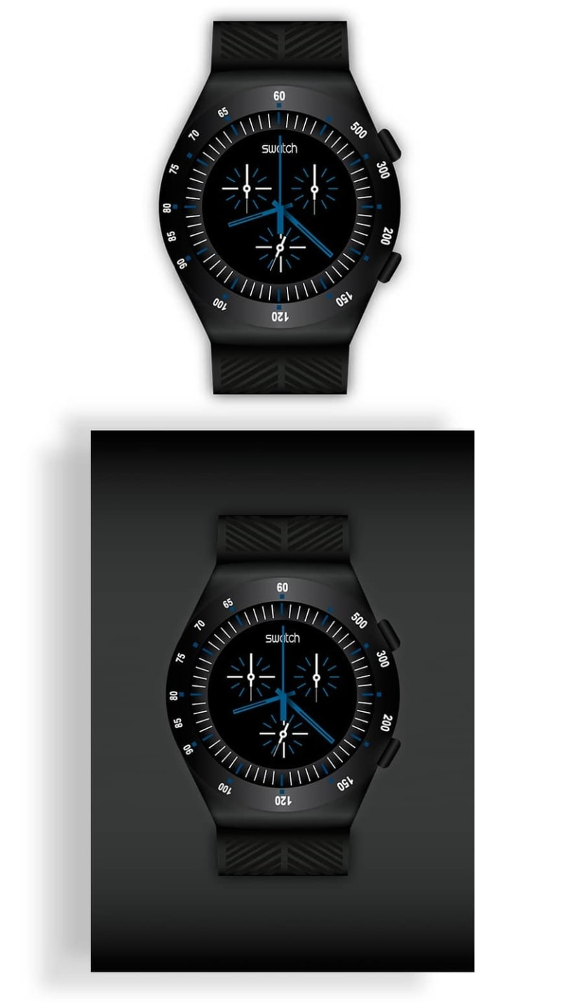 Ilustración reloj Swatch -1
