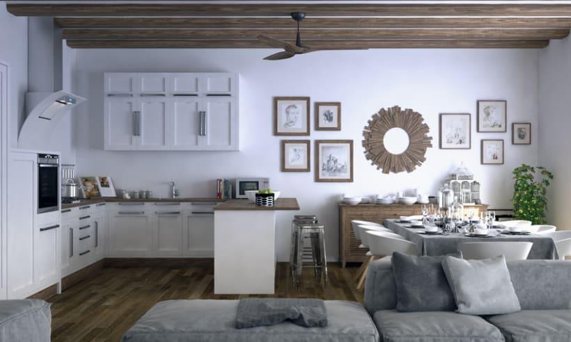 Proyect 3D: Interior Design 3