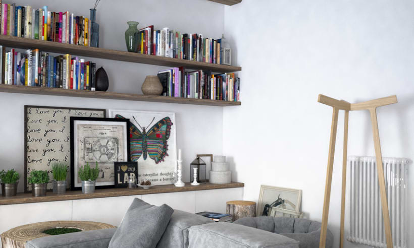 Proyect 3D: Interior Design 4