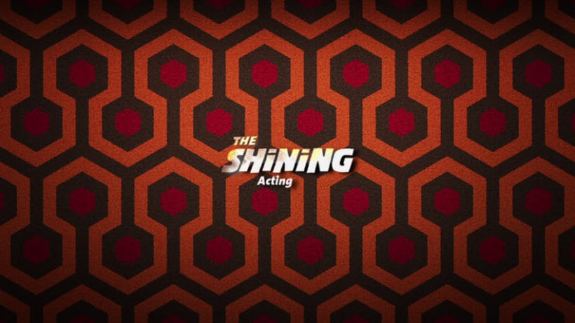3D Acting animation - The Shining 12