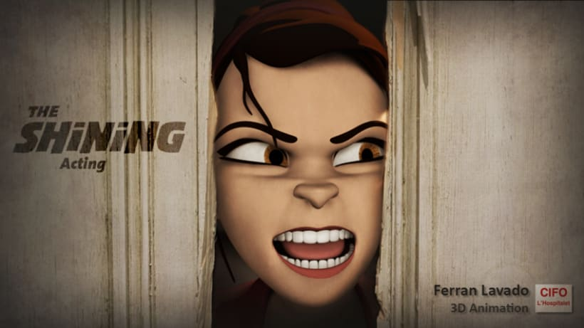 3D Acting animation - The Shining 1