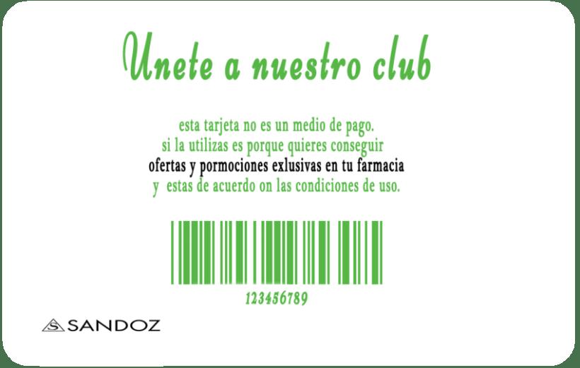 Diseño de tarjeta de fidelización para farmacias 1
