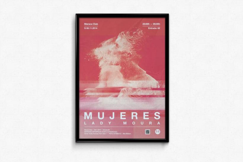 Mujeres + Lady Moura @ Maraca Club 0