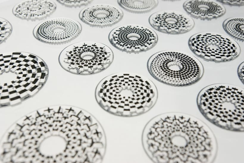 Circle Clear Stamps 3