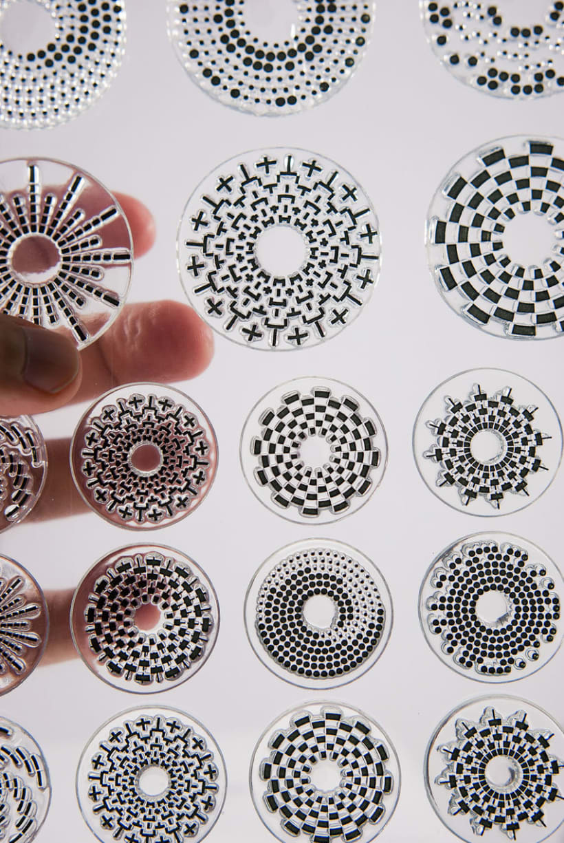 Circle Clear Stamps 1