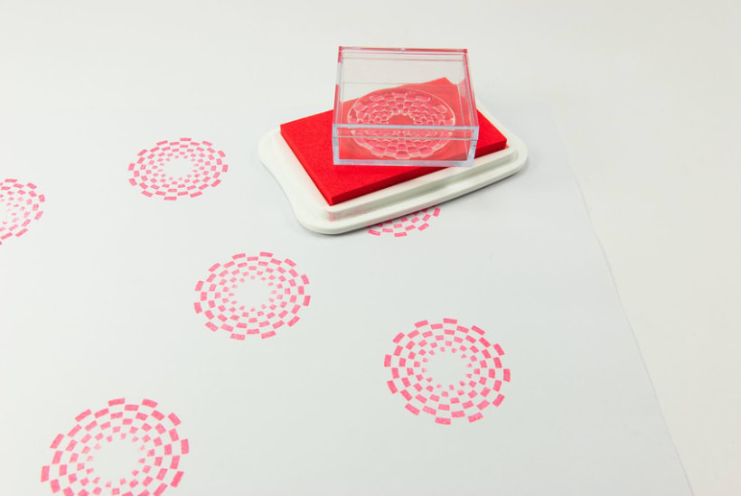 Circle Clear Stamps 13