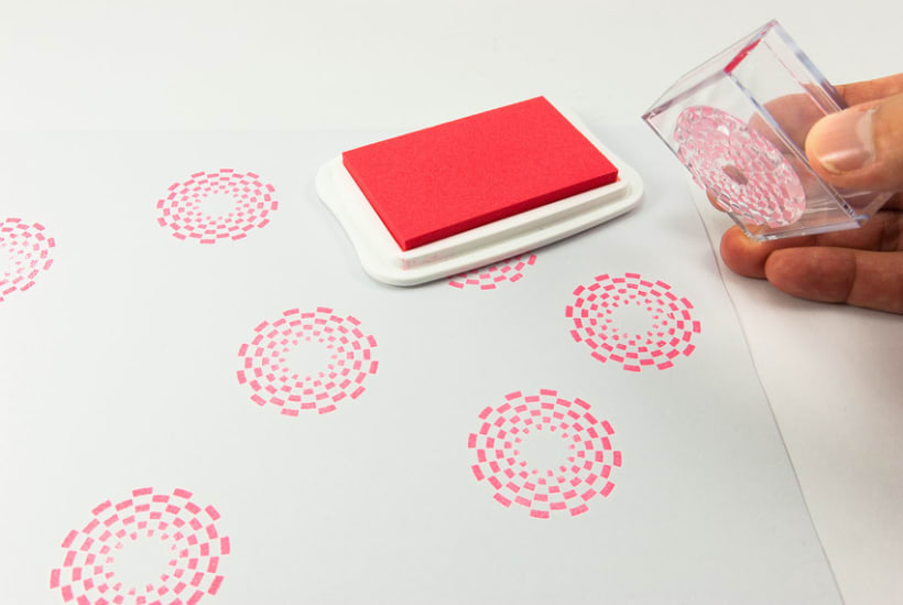 Circle Clear Stamps 16