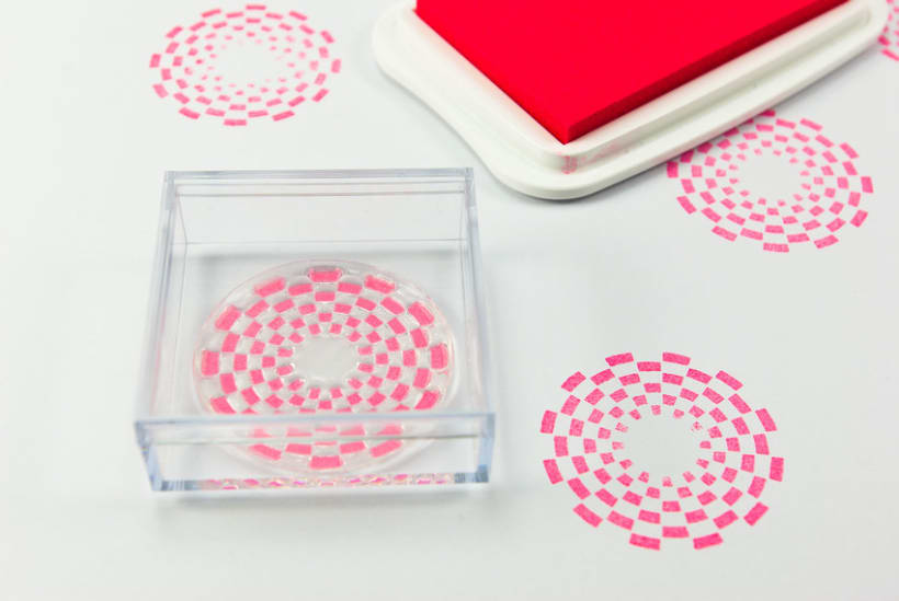Circle Clear Stamps 18