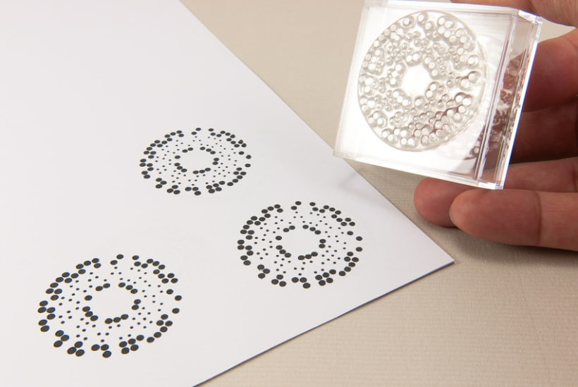 Circle Clear Stamps 19