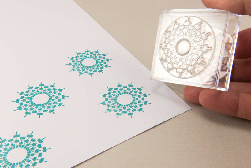 Circle Clear Stamps 20