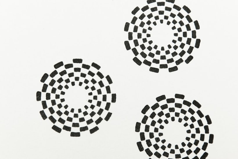 Circle Clear Stamps 24