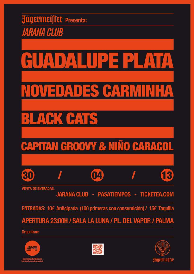Guadalupe Plata @  Jarana Club — Fiesta Jaggermeister 2