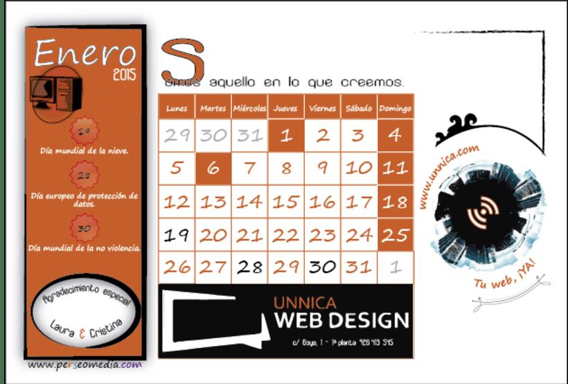 Calendario Solidario 1