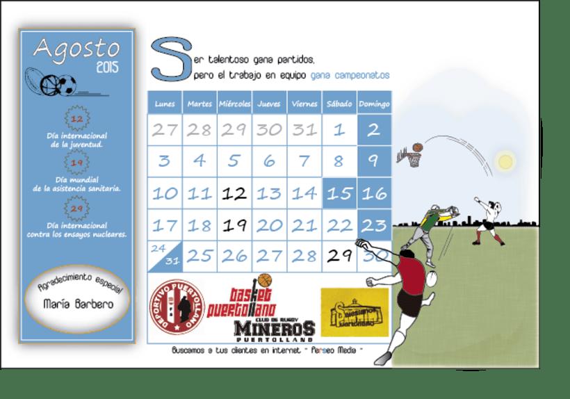Calendario Solidario 8
