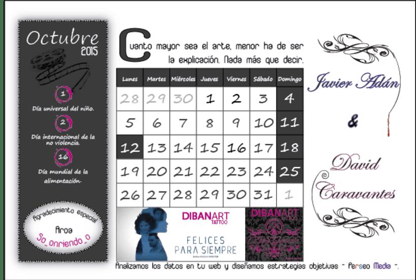 Calendario Solidario 10