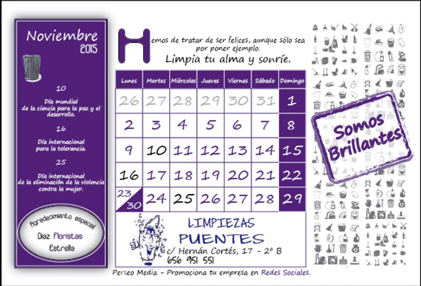 Calendario Solidario 11