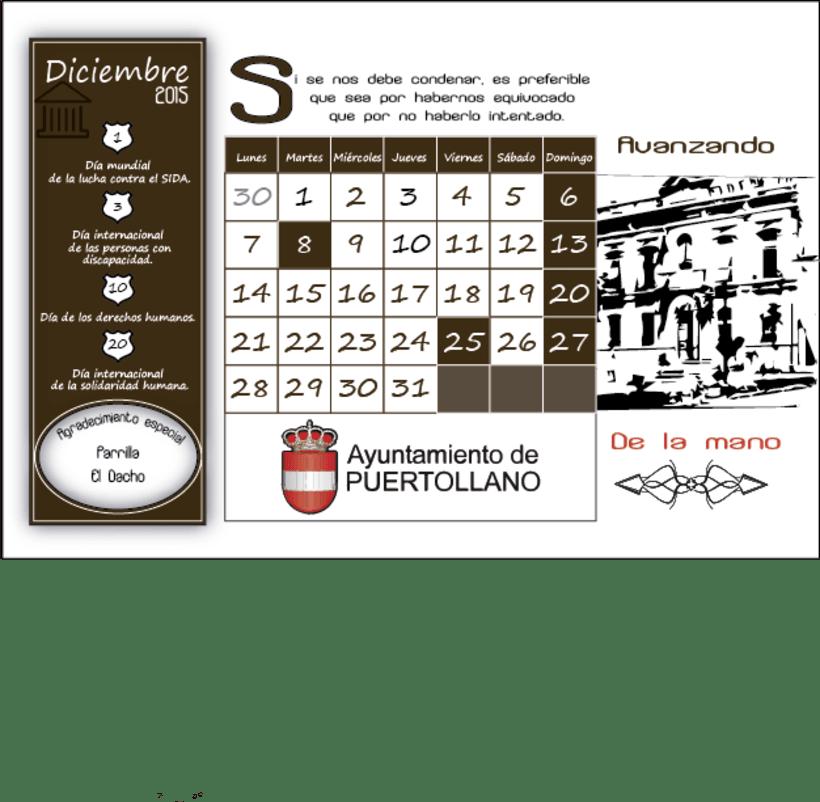 Calendario Solidario 12
