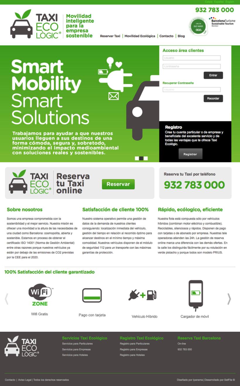 Maqueta y progrmación Taxi Ecològic 0