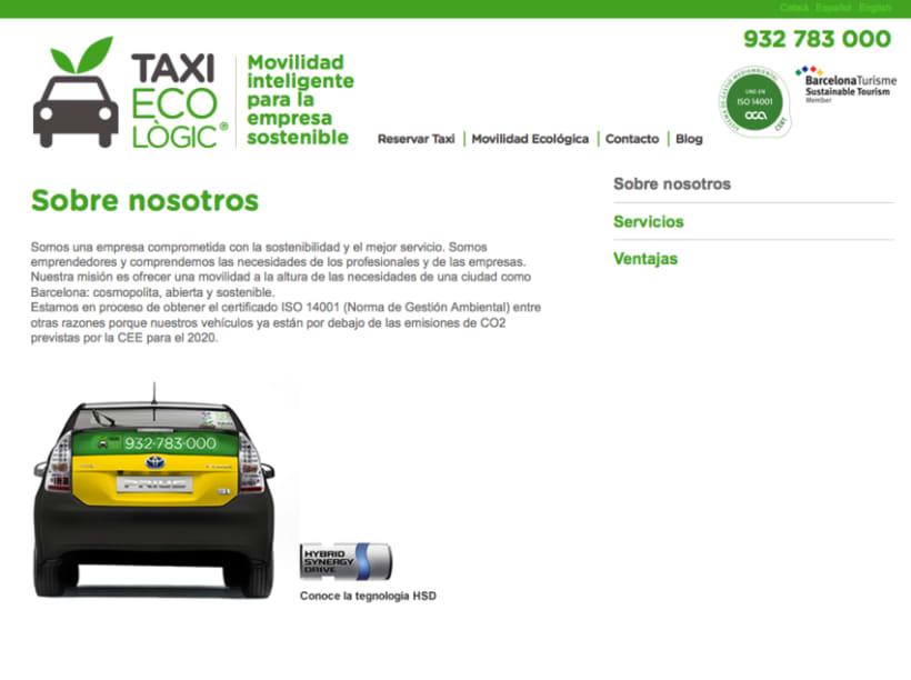Maqueta y progrmación Taxi Ecològic 1