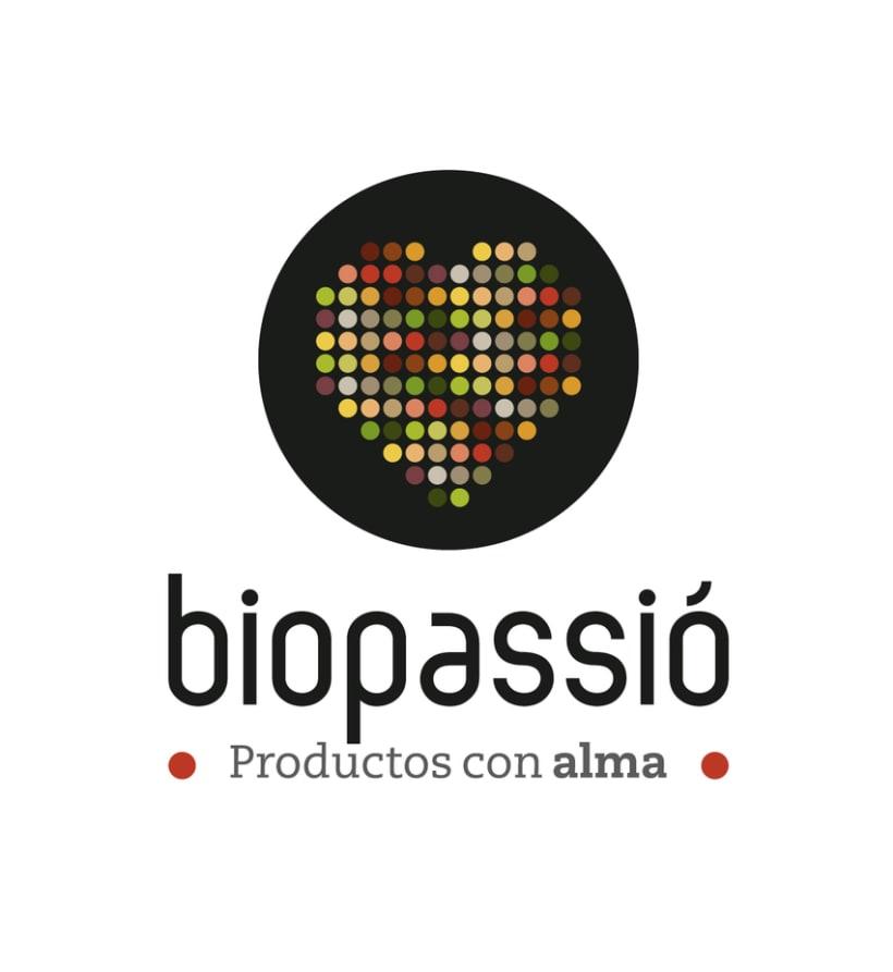 Opinión sobre el lema de un nuevo logotipo (Biopassió) 1