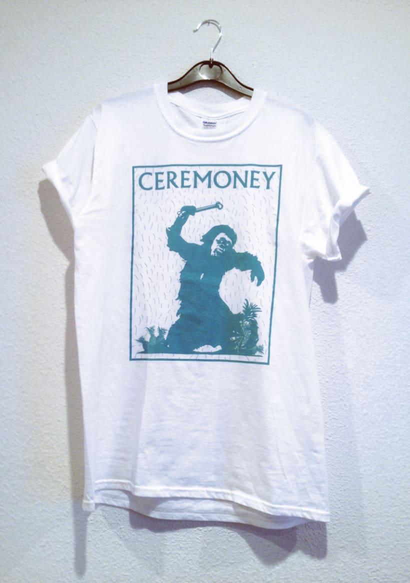 Diseño Camiseta Ceremoney - 2015 Odisea en el ciberespacio 1