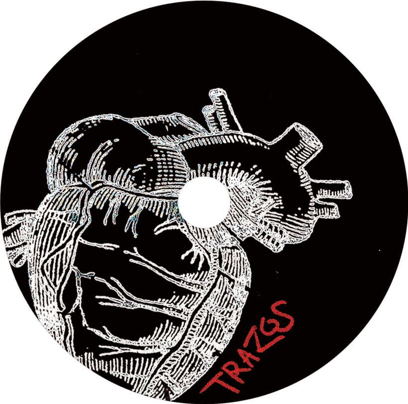 Carátula de CD para Trazos 0