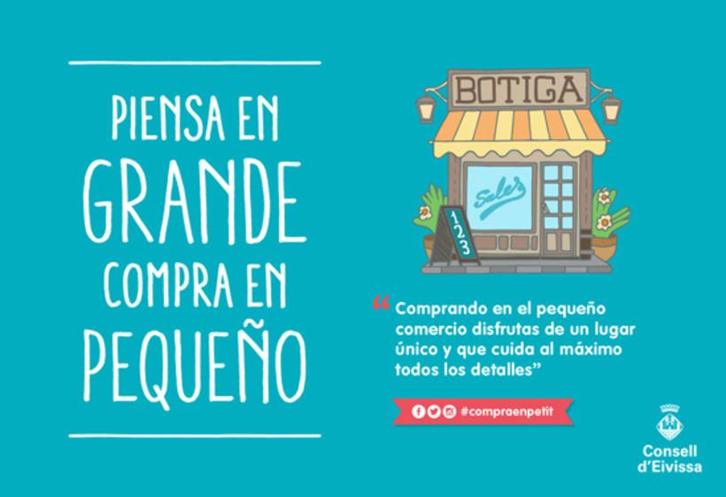 Ilustraciones Campaña #CompraEnPetit > Ibiza 6