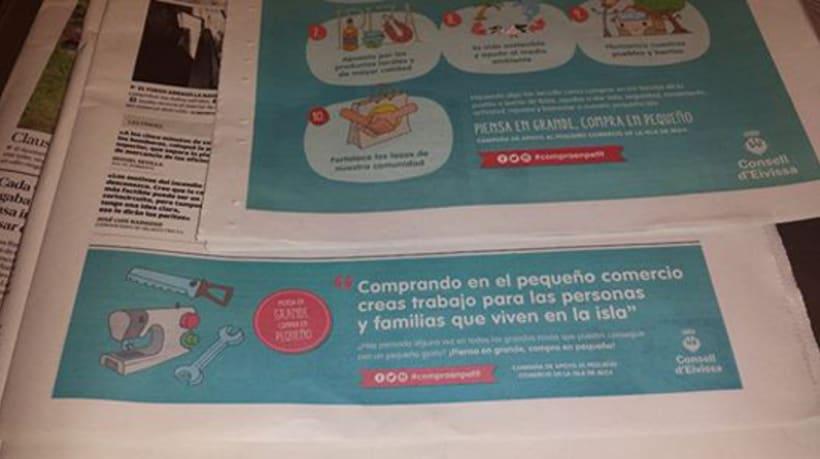 Ilustraciones Campaña #CompraEnPetit > Ibiza 8