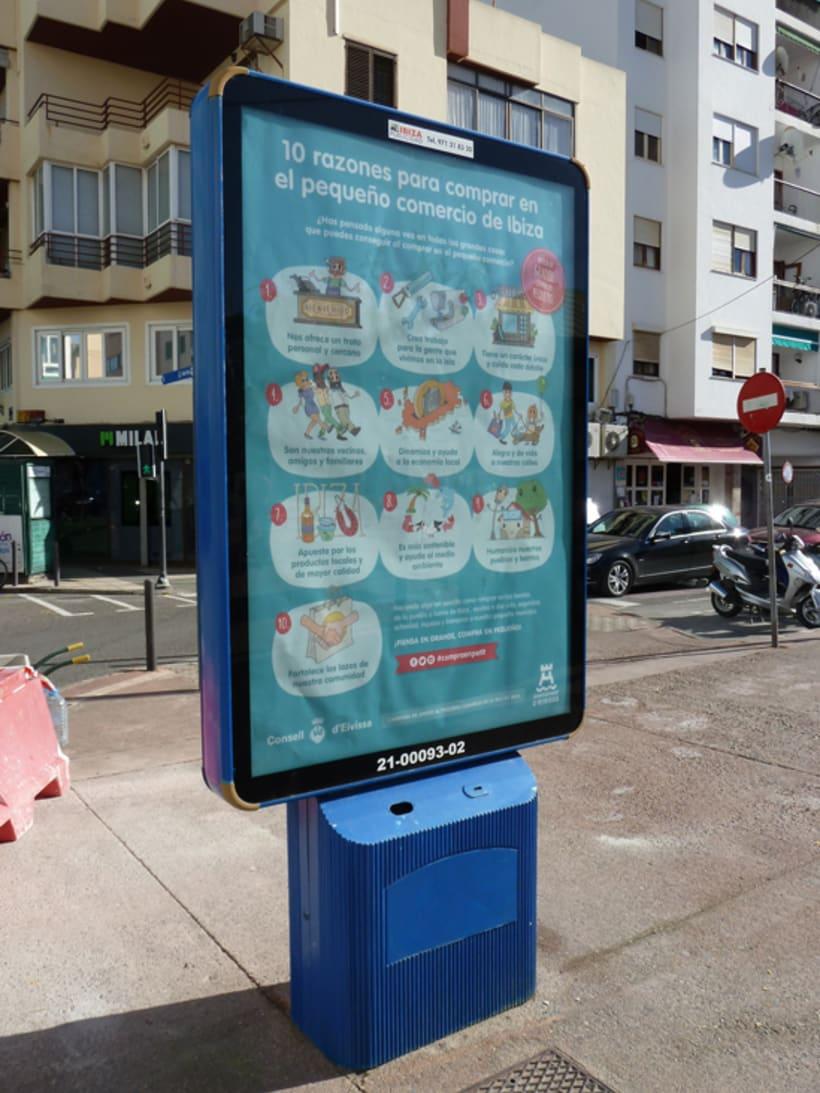 Ilustraciones Campaña #CompraEnPetit > Ibiza 9