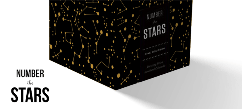 Packaging de cartón: NUMBER THE STARS 0