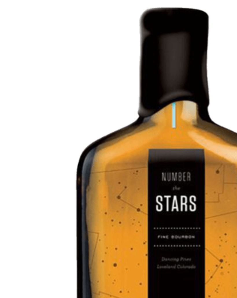 Packaging de cartón: NUMBER THE STARS 1