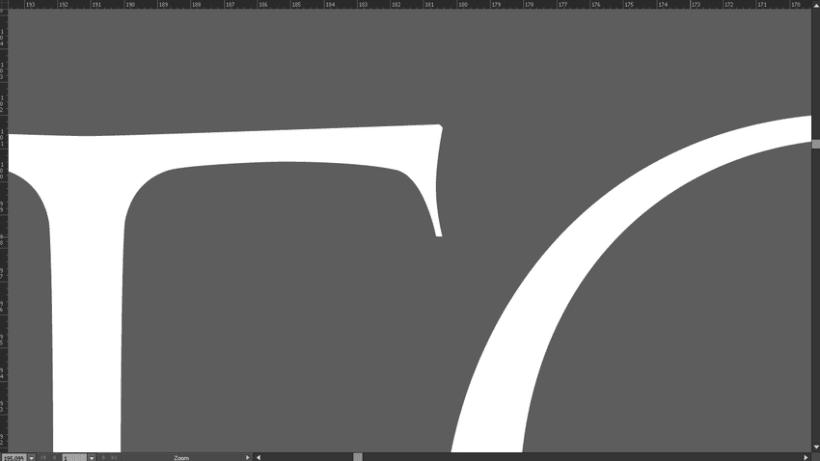 La Toscana Toledo, diseño tipografía. 4