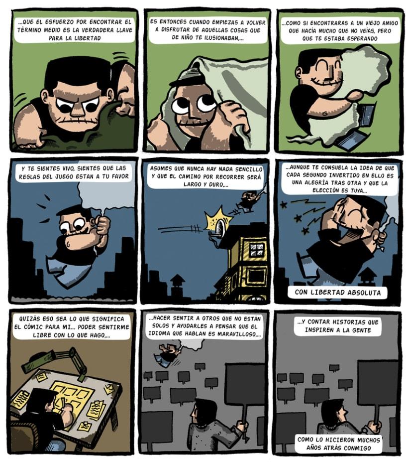 """""""CARTA DE MOTIVACIÓN"""" Máster de Novela Gráfica 9"""