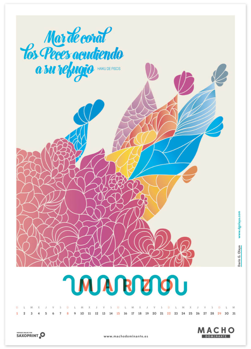 Calendario Macho Dominante 2015 3