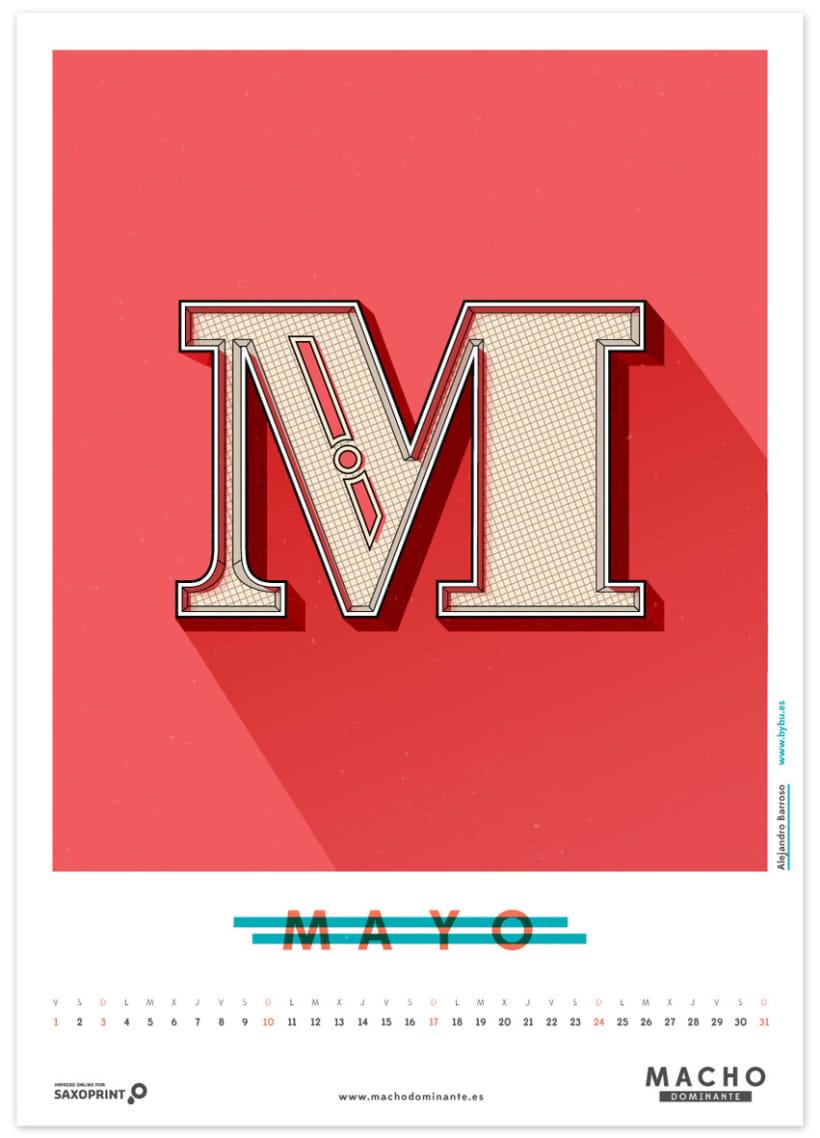 Calendario Macho Dominante 2015 5