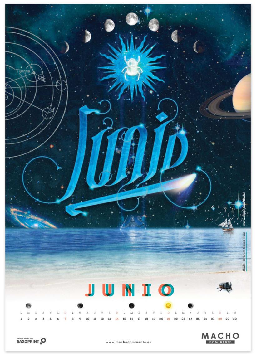 Calendario Macho Dominante 2015 6