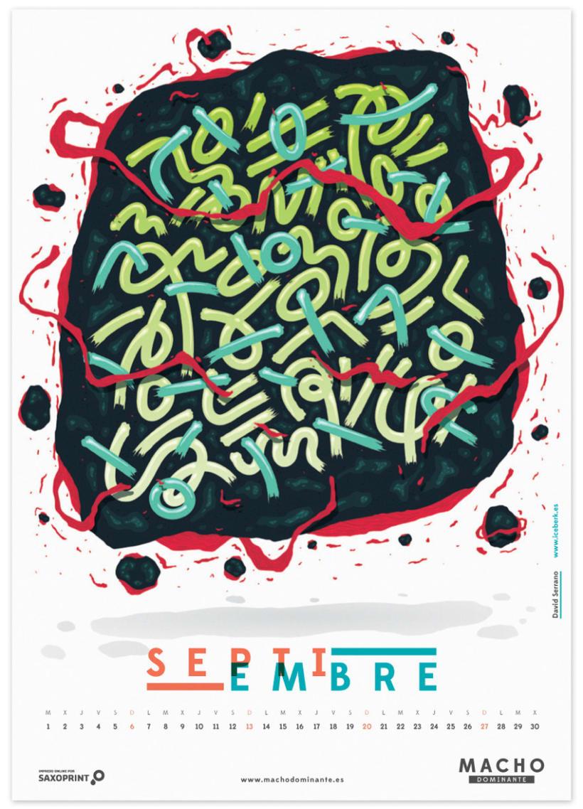 Calendario Macho Dominante 2015 9