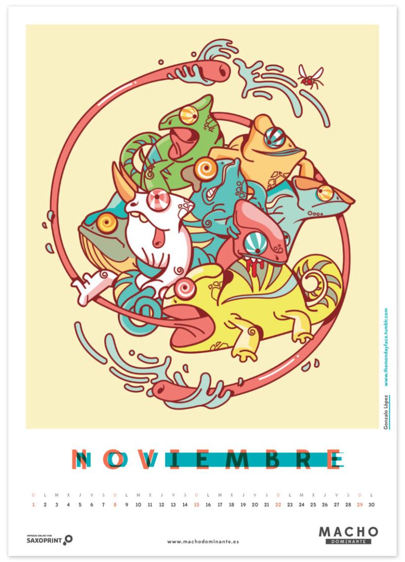Calendario Macho Dominante 2015 11