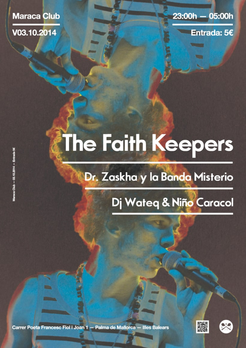 The Faith Keepers @ Maraca Club 1